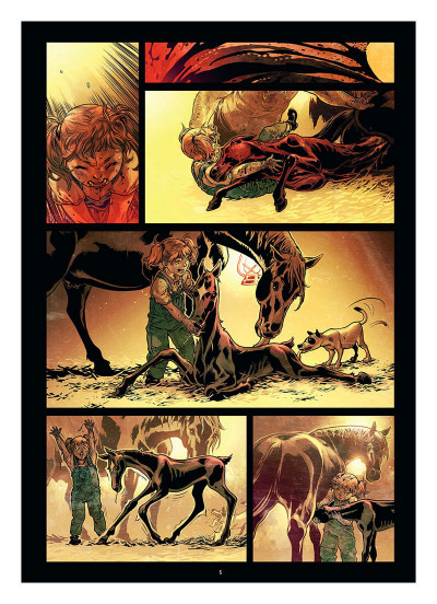 Page 8 Freaks' squeele - funérailles tome 4