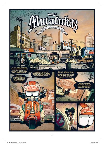 Page 3 Mutafukaz - intégrale