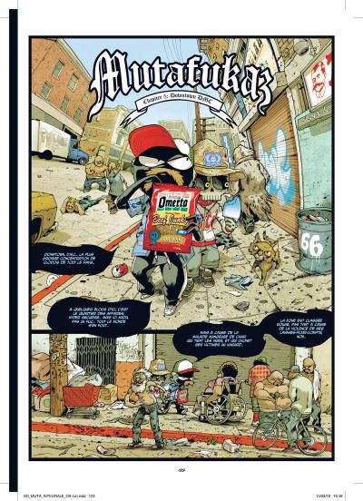 Page 6 Mutafukaz - intégrale