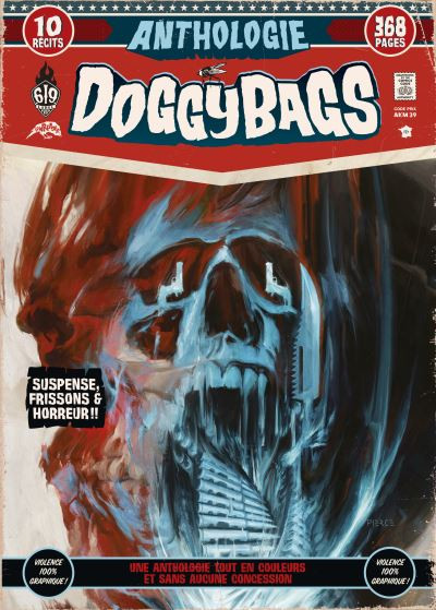 Couverture Anthologie doggybags