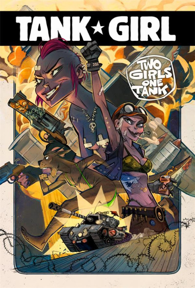 Couverture Tank girl - Two girls one tank