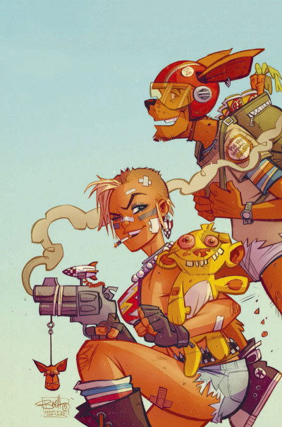 Page 1 Tank girl - Two girls one tank