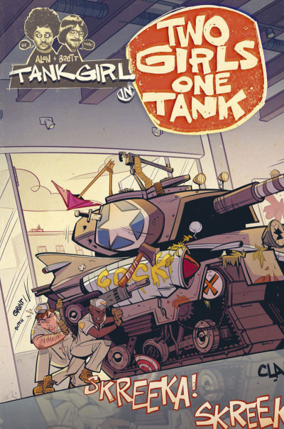 Page 4 Tank girl - Two girls one tank