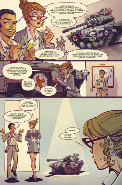 Page 6 Tank girl - Two girls one tank