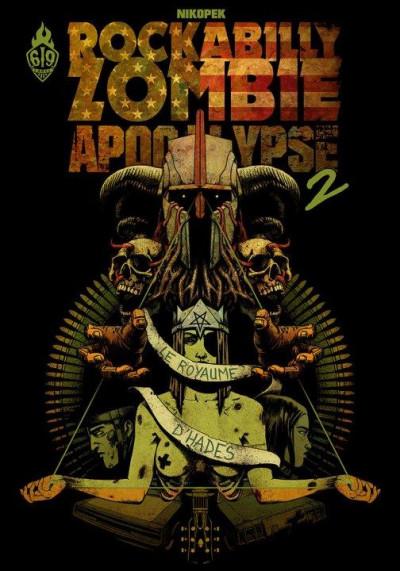 Couverture Rockabilly Zombie Apocalypse tome 2