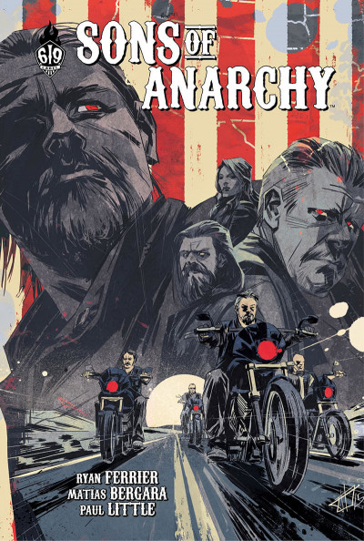Couverture Sons of anarchy tome 6