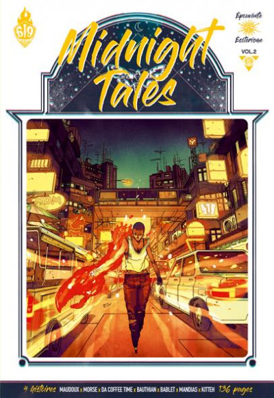 Couverture Midnight tales tome 2 + ex-libris offert