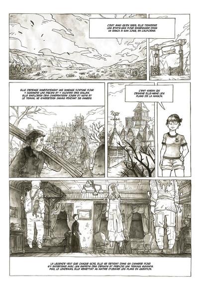 Page 8 Midnight tales tome 2 + ex-libris offert