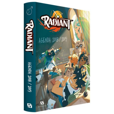 Couverture Radiant - agenda 2018/2019