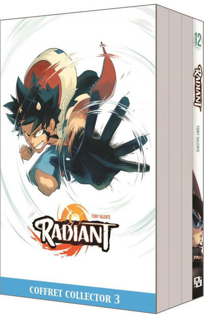Couverture Radiant tome 12 - fourreau  + cale