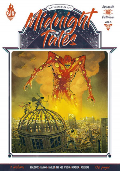 Couverture Midnight tales tome 3