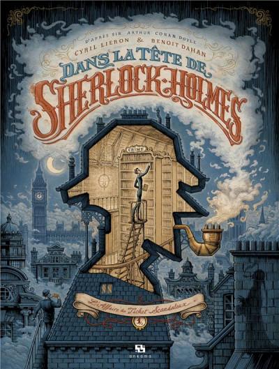 Couverture Dans la tête de Sherlock Holmes tome 1