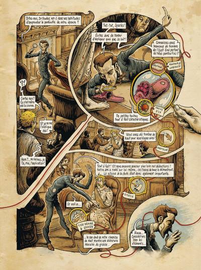Page 0 Dans la tête de Sherlock Holmes tome 1