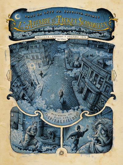 Page 6 Dans la tête de Sherlock Holmes tome 1