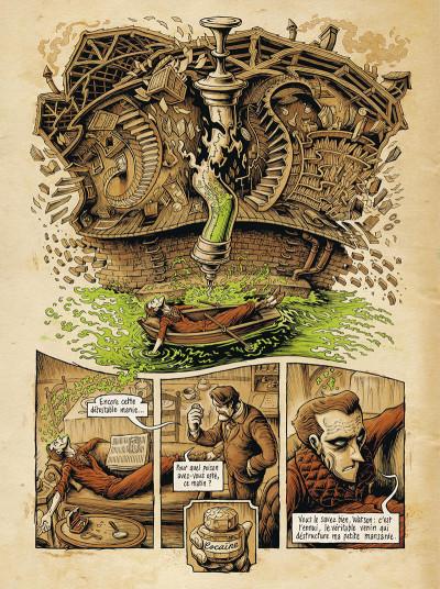 Page 7 Dans la tête de Sherlock Holmes tome 1