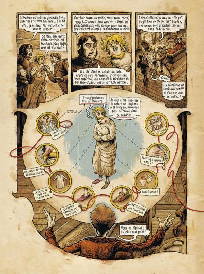Page 9 Dans la tête de Sherlock Holmes tome 1