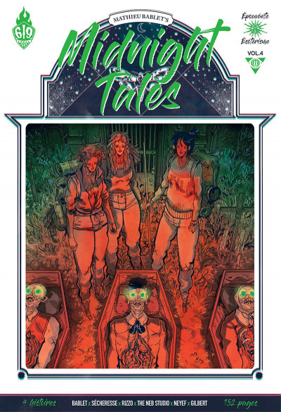 Couverture Midnight tales tome 4