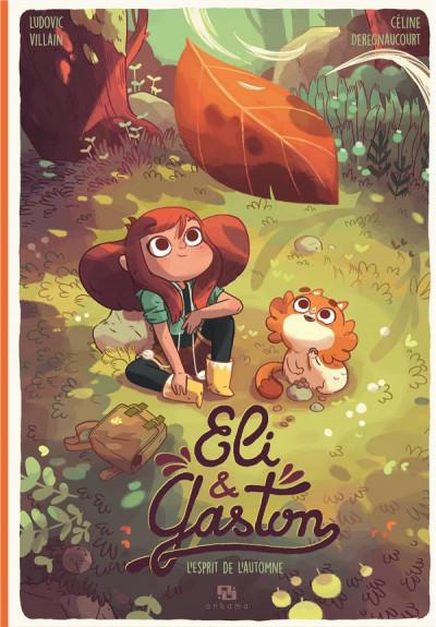 Couverture Eli & Gaston - L'esprit de l'automne