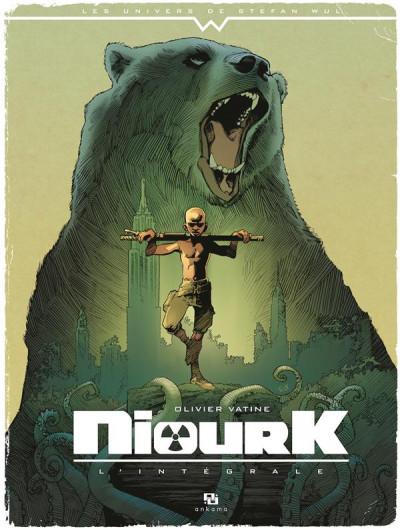 Couverture Niourk - intégrale