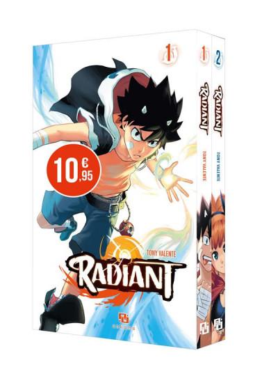 Couverture Radiant - starter pack tomes 1 et 2