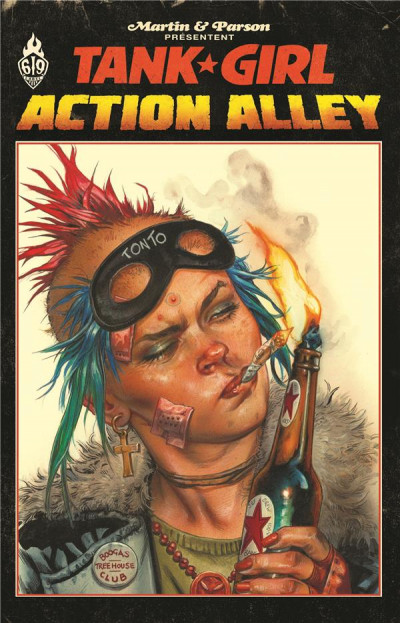 Couverture Tank girl - Action alley