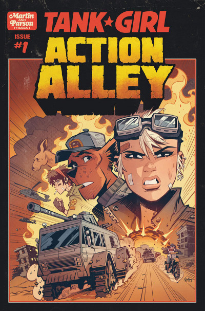 Page 4 Tank girl - Action alley