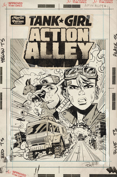 Page 5 Tank girl - Action alley