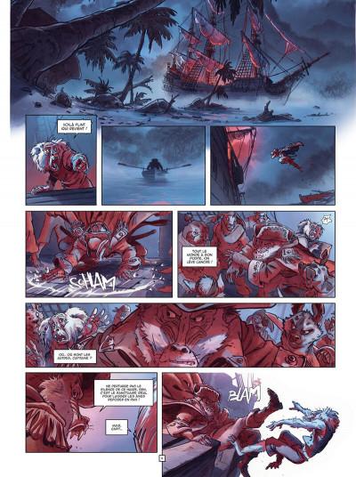 Page 7 Jim Hawkins tome 3