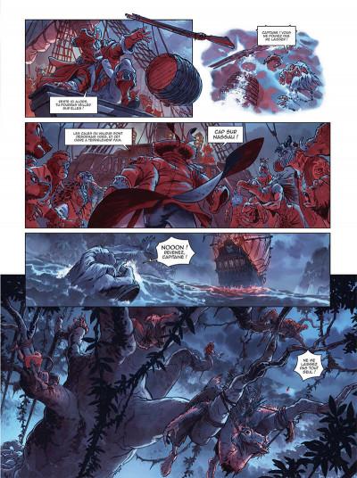 Page 8 Jim Hawkins tome 3