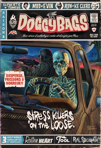 Couverture Doggybags tome 16