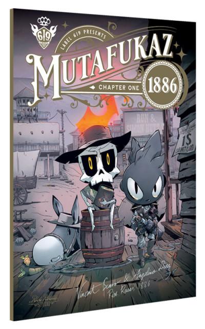 Couverture Mutafukaz 1886 tome 1