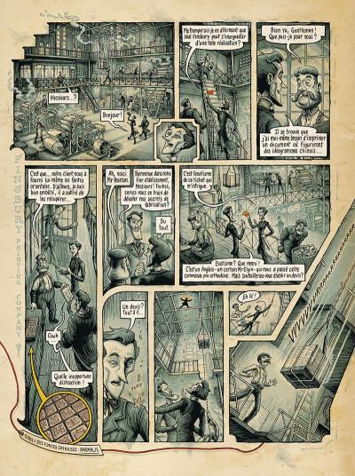 Page 7 Dans la tête de Sherlock Holmes tome 2