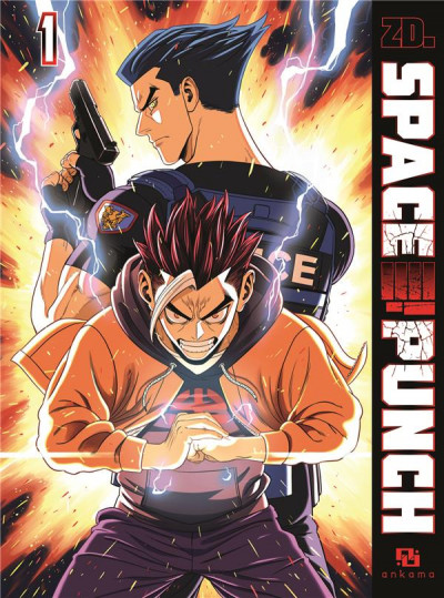 Couverture Space punch tome 1