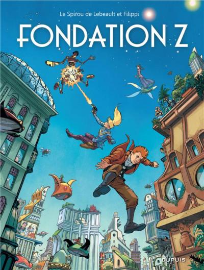 Couverture Spirou et Fantasio vu par... tome 13 - Fondation Z + ex-libris offert