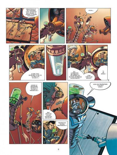 Page 6 Spirou et Fantasio vu par... tome 13 - Fondation Z + ex-libris offert