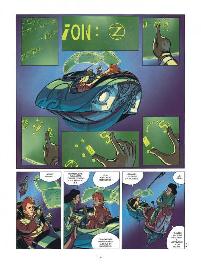 Page 7 Spirou et Fantasio vu par... tome 13 - Fondation Z + ex-libris offert