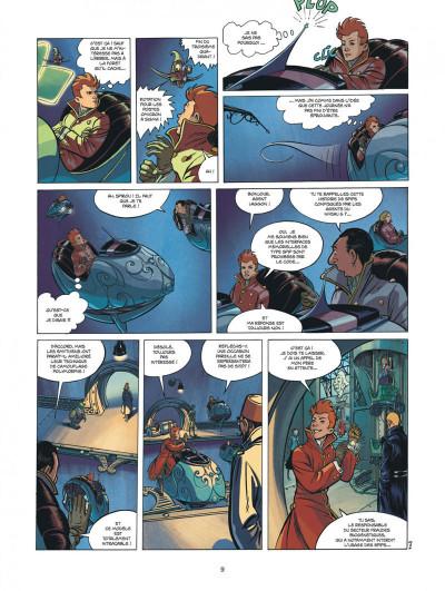 Page 9 Spirou et Fantasio vu par... tome 13 - Fondation Z + ex-libris offert