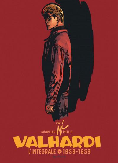 Couverture Valhardi - intégrale tome 4