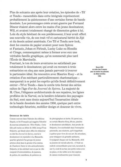 Page 5 Tif et Tondu - intégrale tome 2