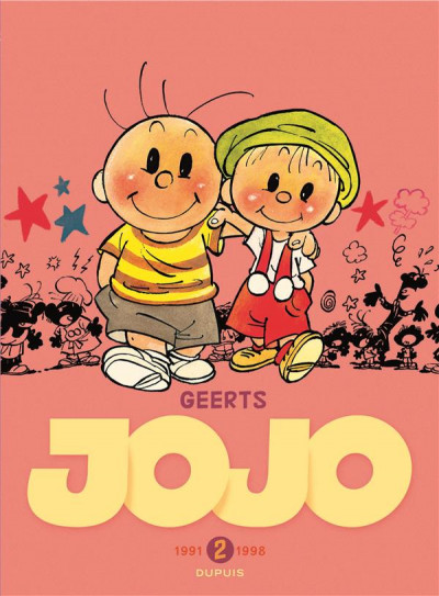 Couverture Jojo - intégrale tome 2