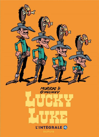 Couverture Lucky Luke - intégrale tome 4