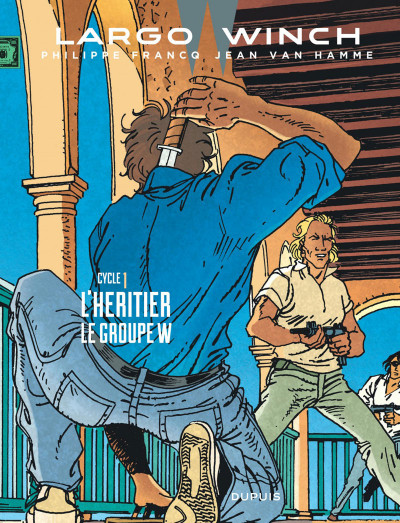 Couverture Largo Winch - diptyque tome 1