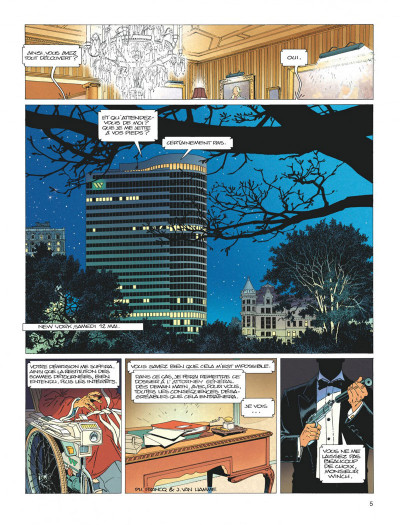 Page 4 Largo Winch - diptyque tome 1