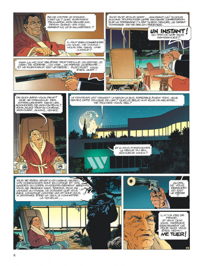 Page 6 Largo Winch - diptyque tome 1