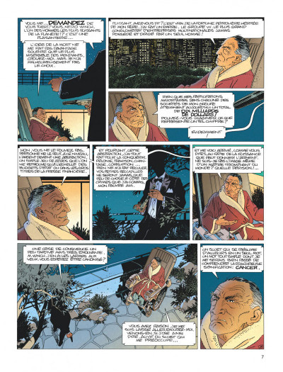 Page 7 Largo Winch - diptyque tome 1