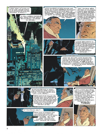 Page 8 Largo Winch - diptyque tome 1