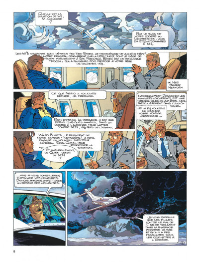 Page 8 Largo Winch diptyque tome 6