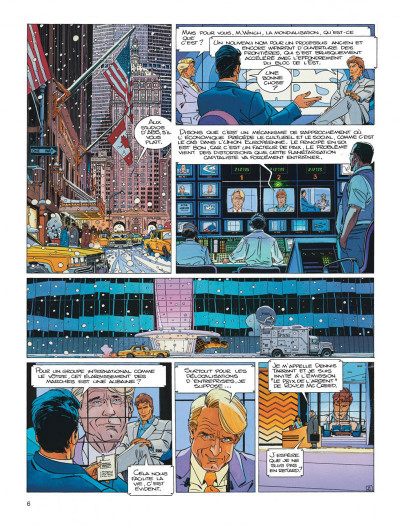 Page 6 Largo winch diptyque tome 7