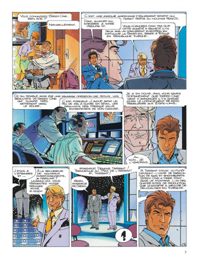 Page 7 Largo winch diptyque tome 7