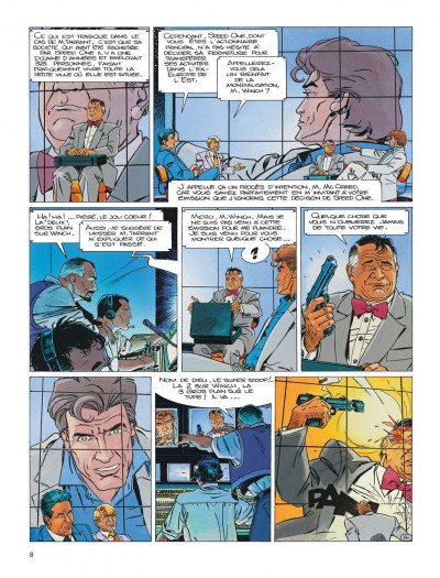 Page 8 Largo winch diptyque tome 7